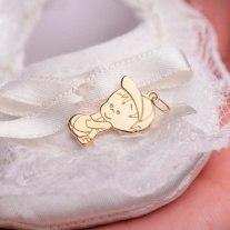 8b7fdfc77d7b Золотые подвески для новорожденного, младенца