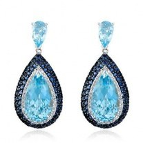 Buy Sapphire Gemstone Earrings Online at Overstock  Our
