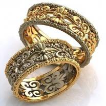 золотое кольцо дорожка с бриллиантами фото