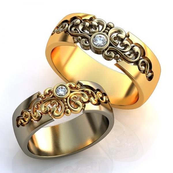 золотые кольца каталог 585