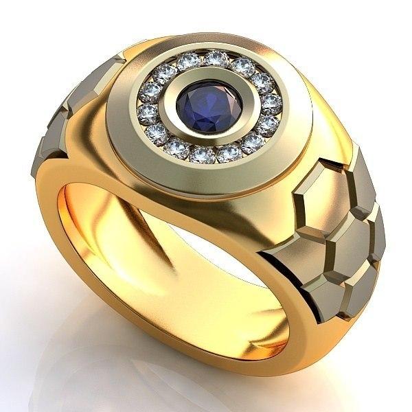 кольцо перстень мужской