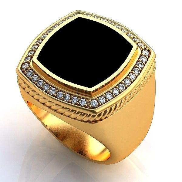 серебряные кольца с сапфиром