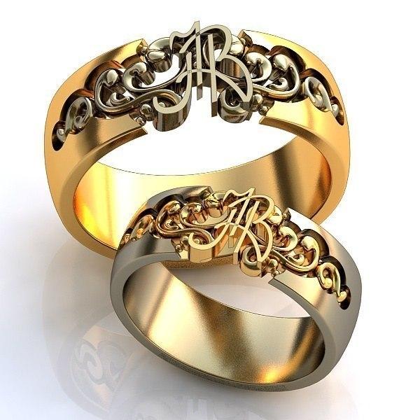 fe6216edddee Обручальные кольца с инициалами   AOG-obr-1403