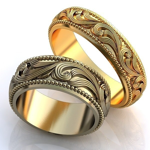 красивые кольца без камней